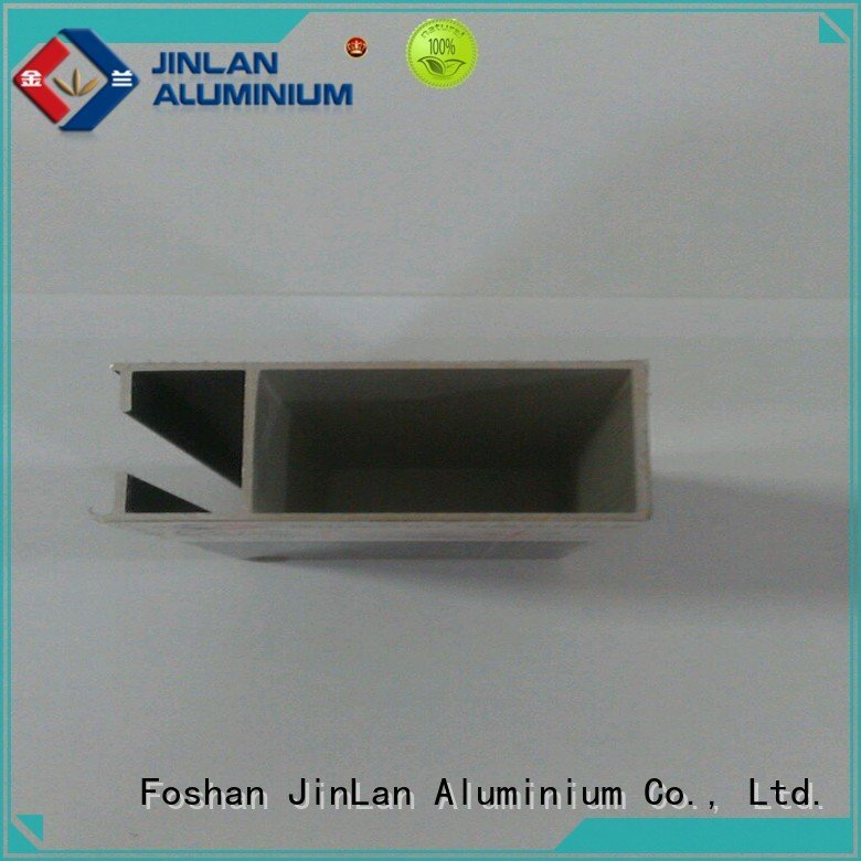 solar extrusion aluminium JinLan aluminium extrusion manufacturers in china