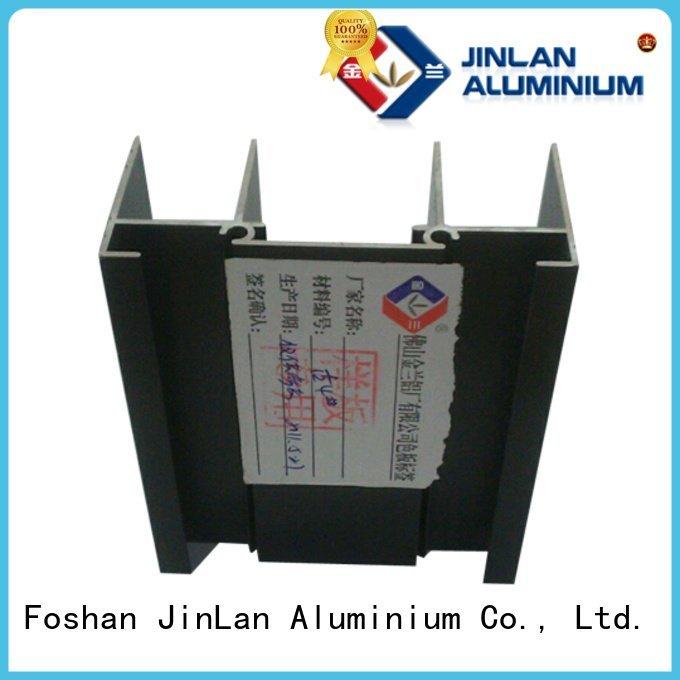 aluminium pipe systems JinLan aluminium extrusion manufacturers in china