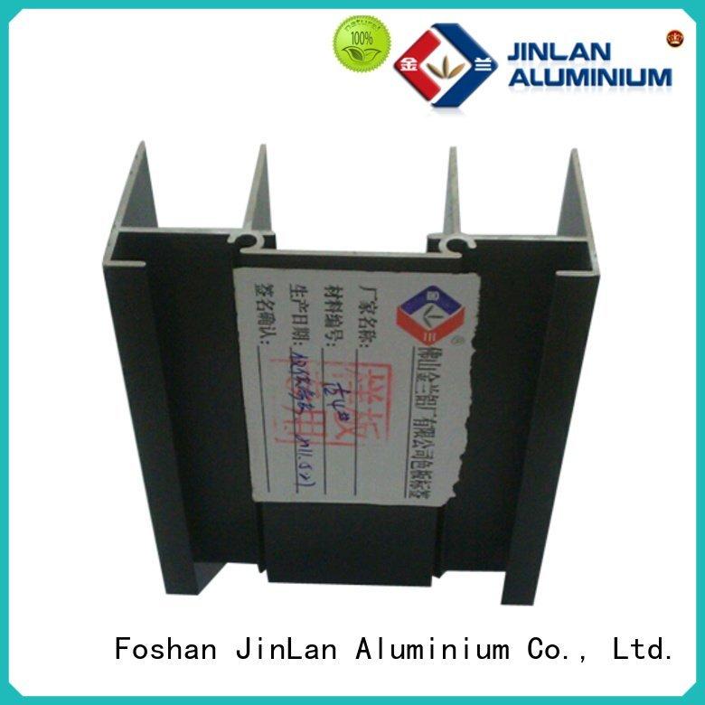 JinLan Brand profile aluminum rectangular tubing