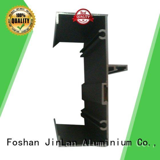solar aluminium systems extrusion JinLan aluminum rectangular tubing
