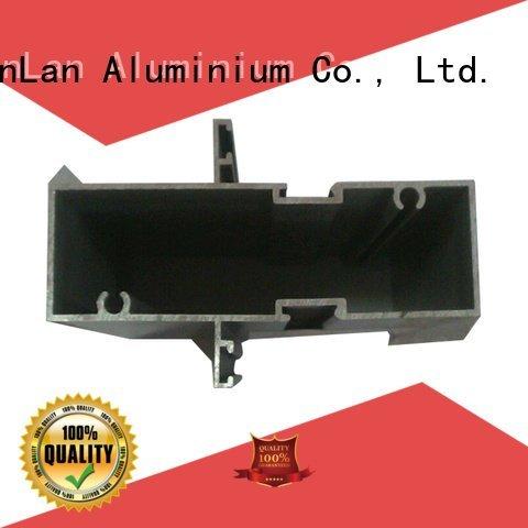 aluminum rectangular tubing solar aluminium extrusion manufacturers in china JinLan