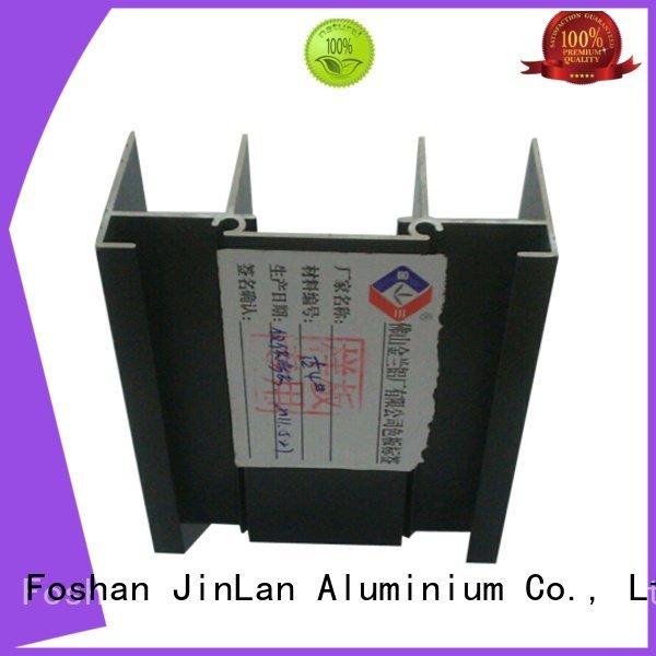 Hot aluminum rectangular tubing systems extrusion solar JinLan Brand