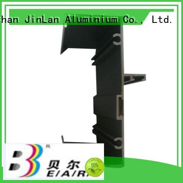 JinLan aluminum rectangular tubing systems profile solar stand