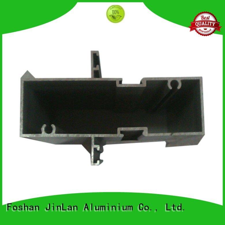 aluminum rectangular tubing stand JinLan Brand extrusion aluminium