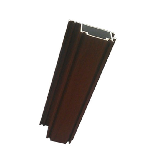 wood grain aluminium extrusion profile