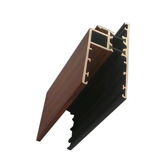 wood grain window profiles