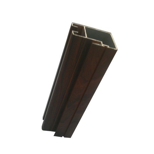 wood surface window profile