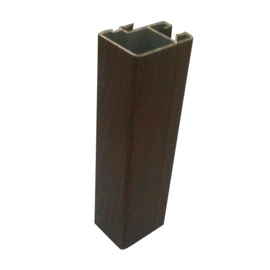 wood surface window profile