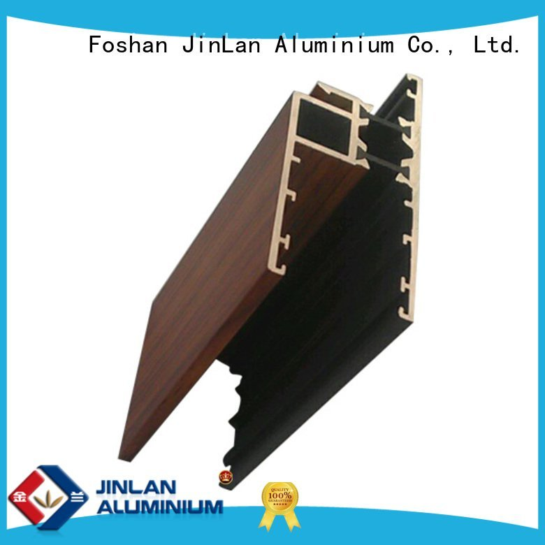 stand aluminium extrusion manufacturers in china JinLan aluminum rectangular tubing
