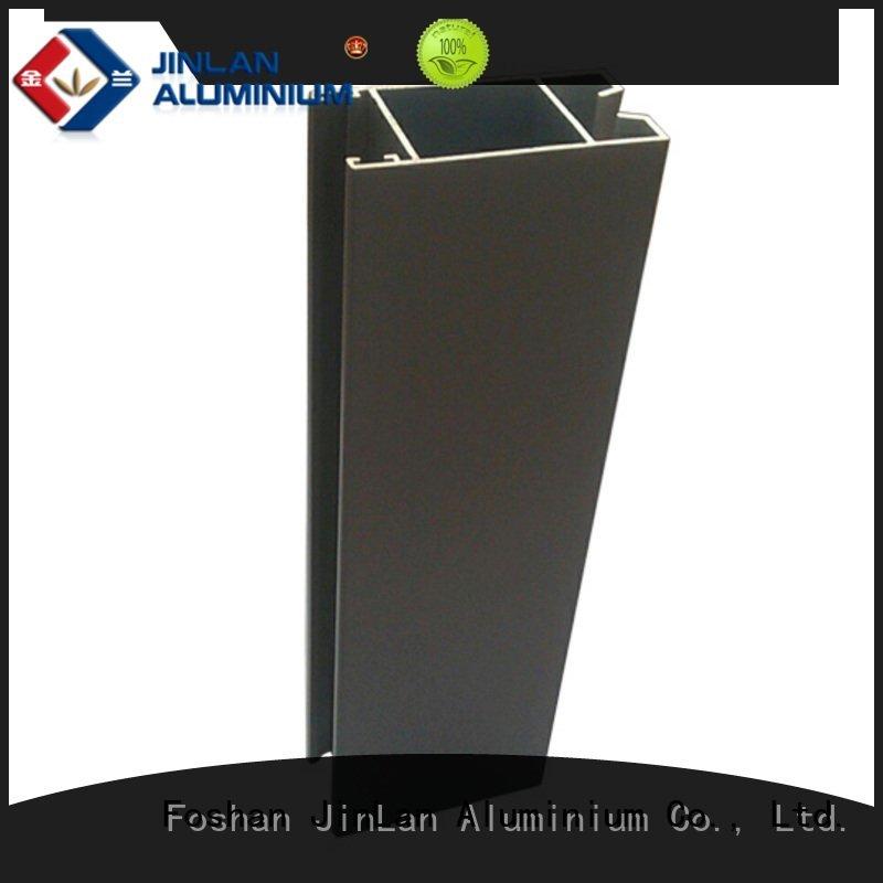 Hot aluminum rectangular tubing pipe systems aluminium JinLan Brand