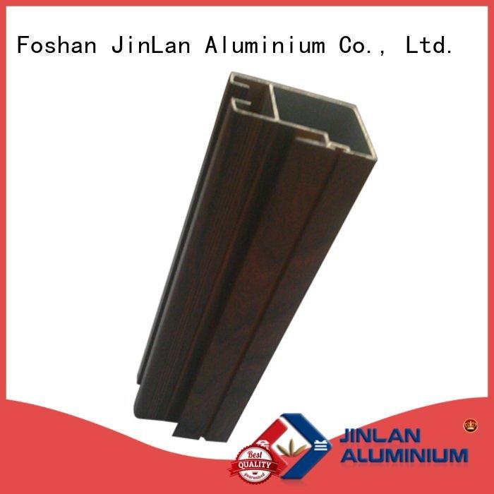 pipe profile JinLan aluminium extrusion manufacturers in china aluminium extrusion