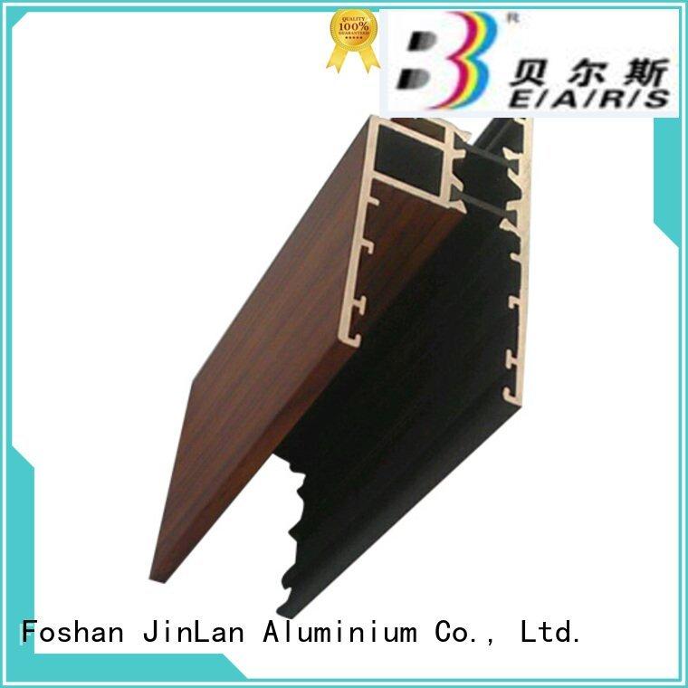 stand extrusion pipe solar JinLan aluminum rectangular tubing