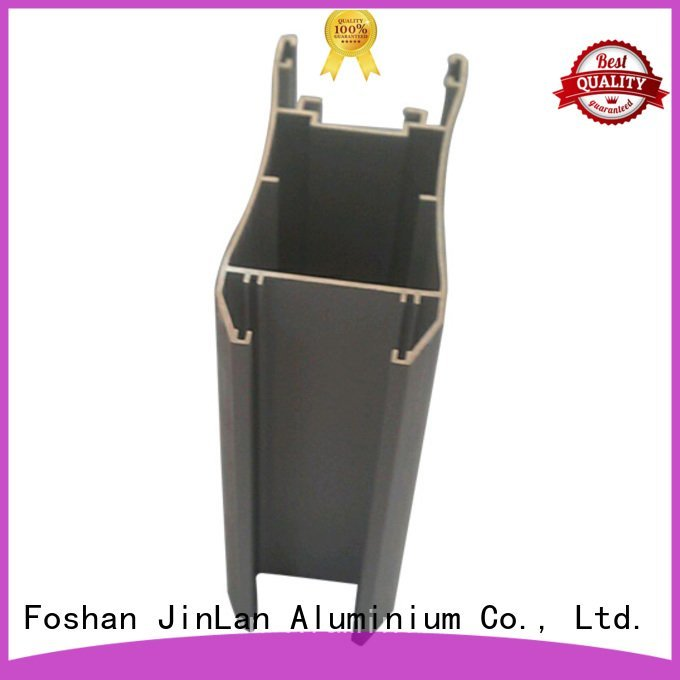 JinLan aluminum rectangular tubing pipe systems extrusion stand
