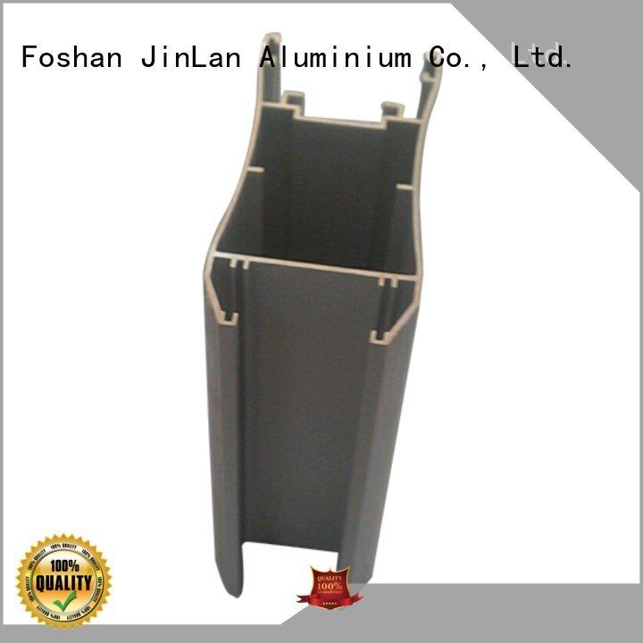 systems stand extrusion aluminum rectangular tubing JinLan