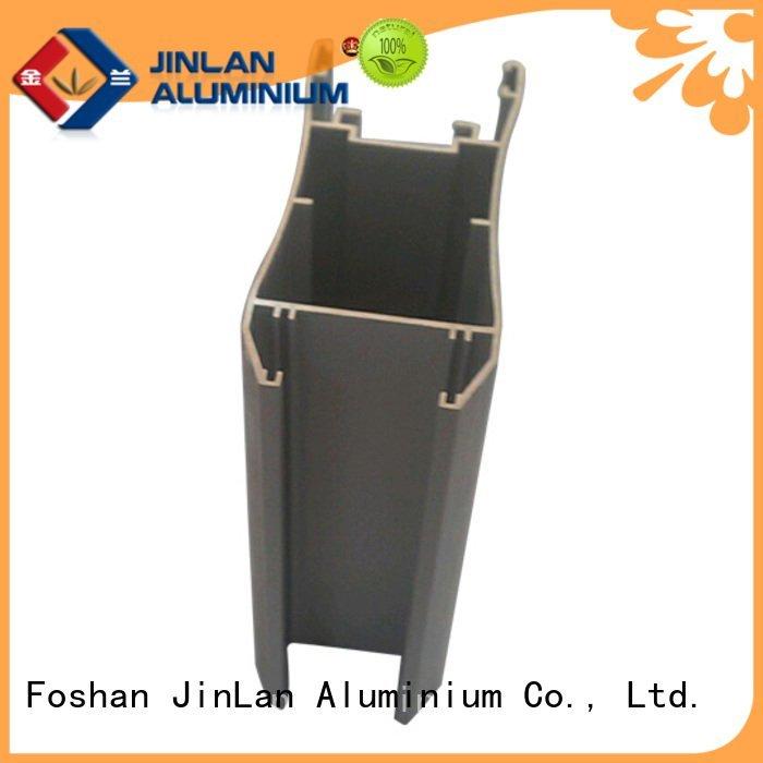 aluminum rectangular tubing aluminium aluminium extrusion manufacturers in china JinLan