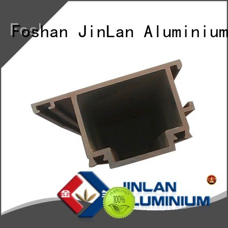 aluminum rectangular tubing pipe JinLan Brand aluminium extrusion manufacturers in china