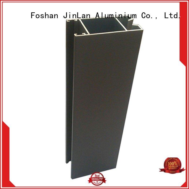 stand profile aluminium JinLan aluminum rectangular tubing