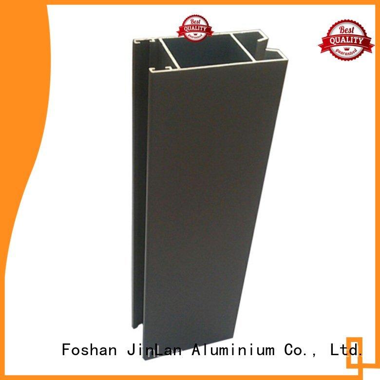 extrusion aluminum rectangular tubing solar JinLan