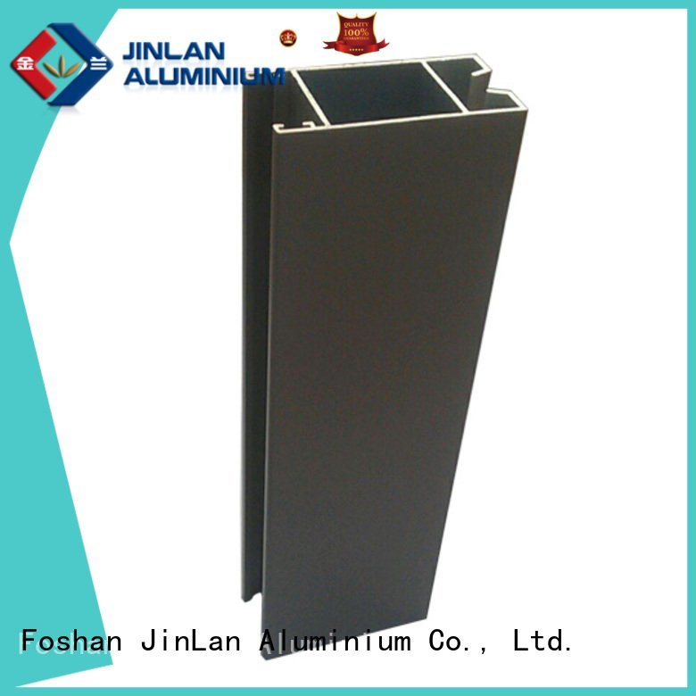 Custom aluminium extrusion manufacturers in china stand extrusion profile JinLan