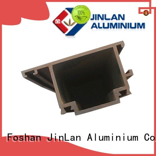 aluminum rectangular tubing systems stand OEM aluminium extrusion manufacturers in china JinLan