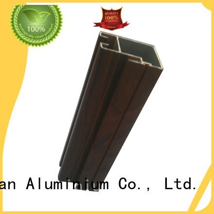 aluminum rectangular tubing profile JinLan Brand aluminium extrusion manufacturers in china