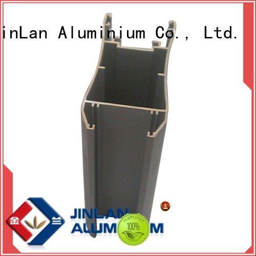 profile stand solar extrusion JinLan aluminium extrusion manufacturers in china