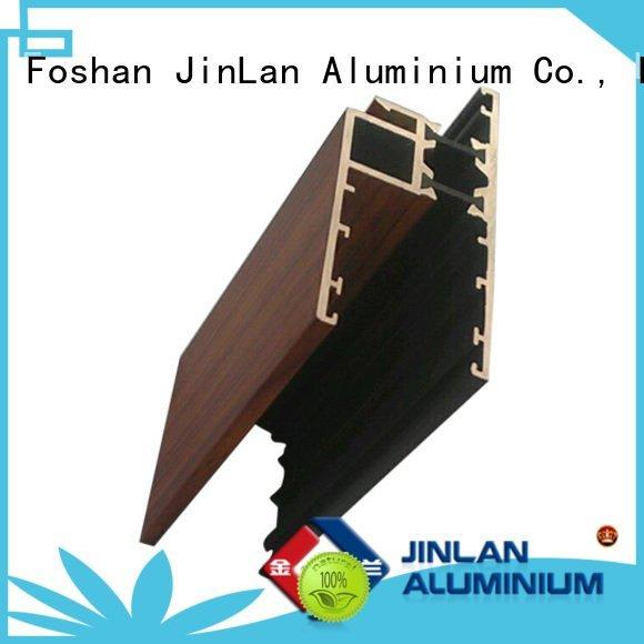aluminium aluminum rectangular tubing extrusion JinLan Brand aluminium extrusion manufacturers in china extrusion