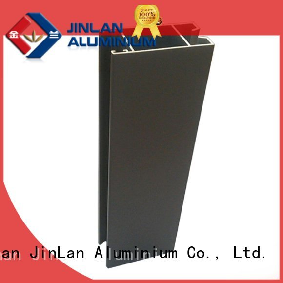 aluminum rectangular tubing aluminium solar OEM aluminium extrusion manufacturers in china JinLan